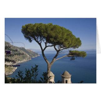 アマルフィの海岸、Ravelloのカンパニア州、イタリア カード