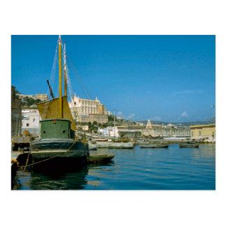 アマルフィの海岸、Salernoの水辺地帯 ポストカード
