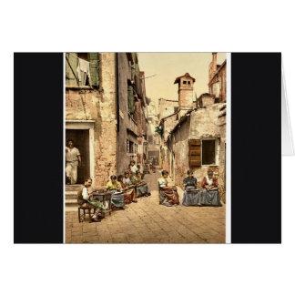 アマルフィ、Capucciniから、ナポリ、イタリアのクラシック カード