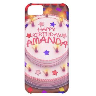アマンダのお誕生日ケーキ iPhone5Cケース