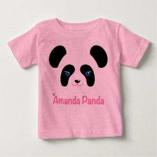 アマンダのパンダ ベビーTシャツ