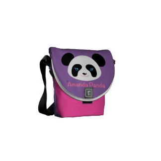 アマンダのパンダ メッセンジャーバッグ