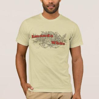 アマンダの白いオウムT Tシャツ