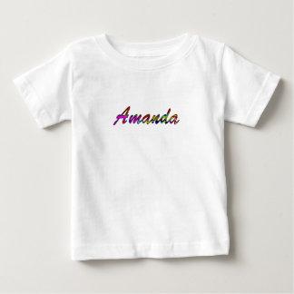 アマンダのTシャツ ベビーTシャツ