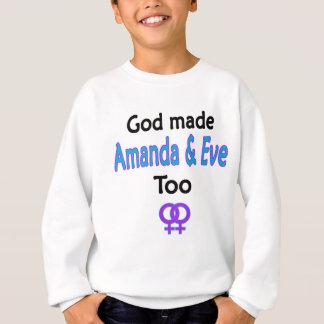 アマンダ及びイブ スウェットシャツ