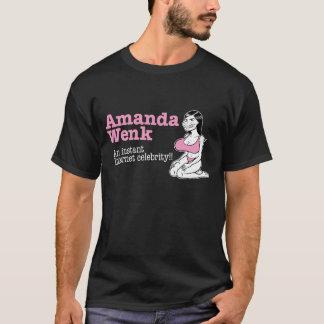 アマンダWenk (暗い) Tシャツ