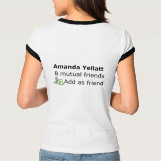 アマンダYellatt Tシャツ