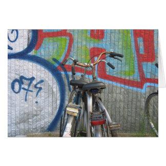 アムステルダムのバイク カード