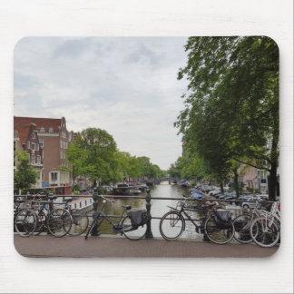 アムステルダムのマウスパッド マウスパッド