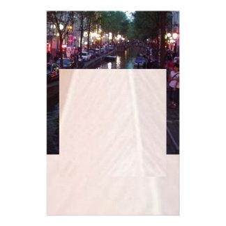 アムステルダムの夕べ 便箋
