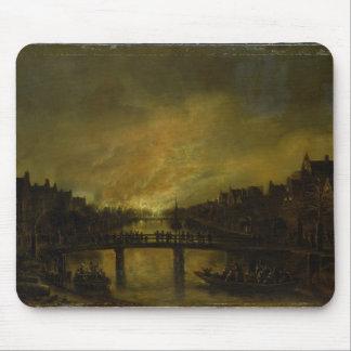 アムステルダムの炎 マウスパッド