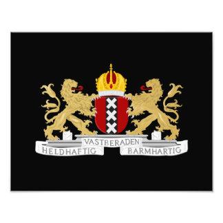 アムステルダムの紋章付き外衣 フォトプリント