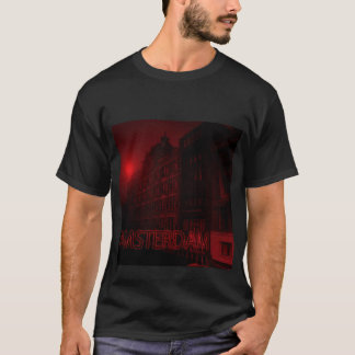 アムステルダムの赤灯 Tシャツ