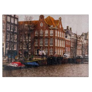 アムステルダムの運河および建築 カッティングボード