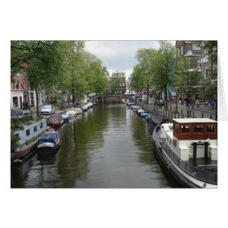 アムステルダムの運河 カード