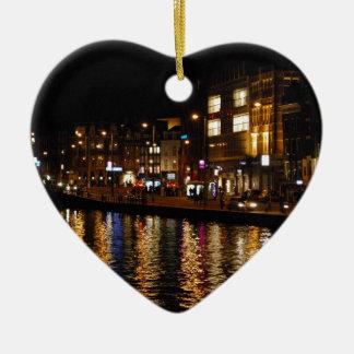 アムステルダムの運河 セラミックオーナメント