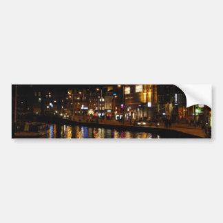 アムステルダムの運河 バンパーステッカー