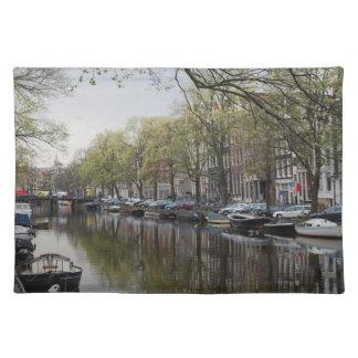 アムステルダムの運河 ランチョンマット