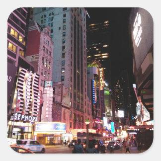 アムステルダムの道ニューヨークシティ2017年 スクエアシール