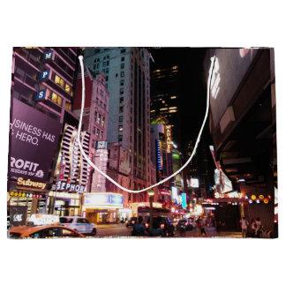 アムステルダムの道ニューヨークシティ2017年 ラージペーパーバッグ