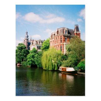 アムステルダムの郵便はがき ポストカード