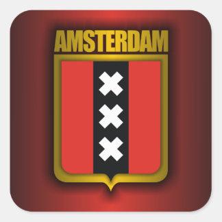 アムステルダムの鋼鉄(旗) スクエアシール