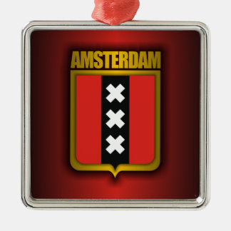 アムステルダムの鋼鉄(旗) メタルオーナメント