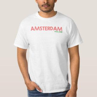 アムステルダムオランダ Tシャツ