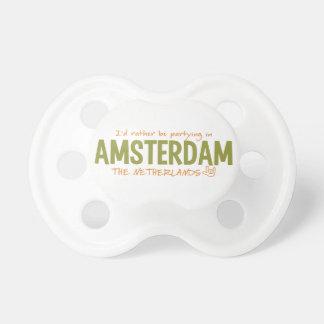 アムステルダムカスタムな色の調停者 おしゃぶり
