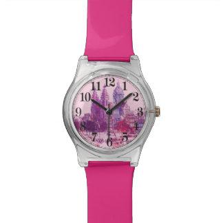 アムステルダム教会ピンク 腕時計
