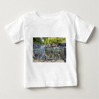 アムステルダム運河 ベビーTシャツ