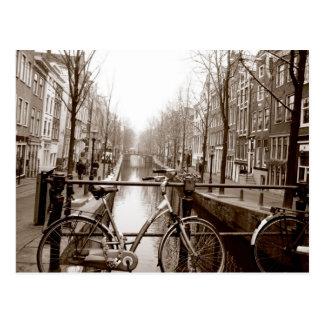 アムステルダム運河 ポストカード