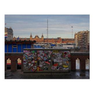 アムステルダム: 付けられる ポストカード