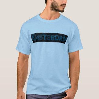 アムステルダムblue2 tシャツ