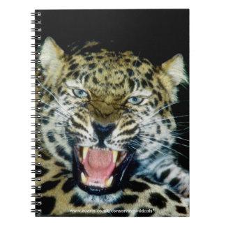 アムールのヒョウ ノートブック