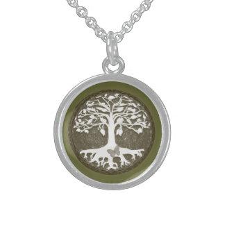 アメリアCarrie著新しい始め生命の樹 スターリングシルバーネックレス