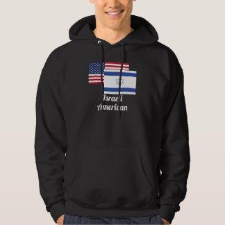 アメリカおよびイスラエルの旗 パーカ