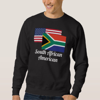 アメリカおよび南アフリカの旗 スウェットシャツ