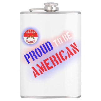 アメリカがあること誇りを持った フラスク