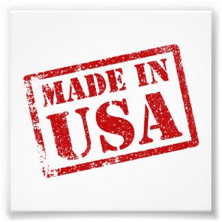 アメリカでなされる米国で作られる フォトプリント