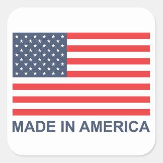 アメリカで作られる スクエアシール