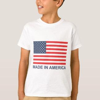 アメリカで作られる Tシャツ