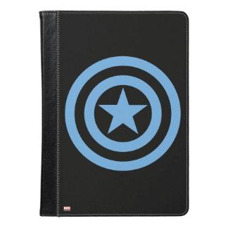 アメリカによって大尉すごい兵士のロゴ iPad AIRケース