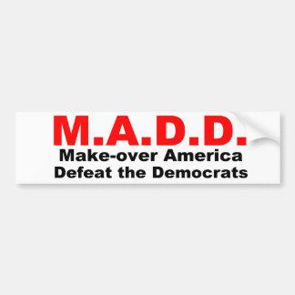 アメリカに作って下さい、Democratesを敗北させて下さい バンパーステッカー