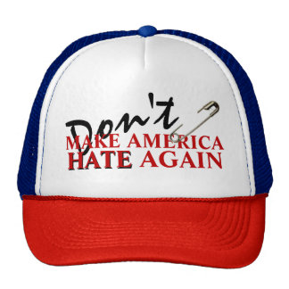 """""""アメリカに""""トラック運転手の帽子を再度憎ませます キャップ"""