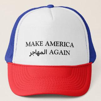 アメリカのالمهاجرを再度作って下さい キャップ