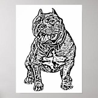 アメリカのいじめっ子犬 ポスター