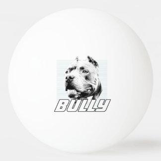 アメリカのいじめっ子犬 卓球ボール