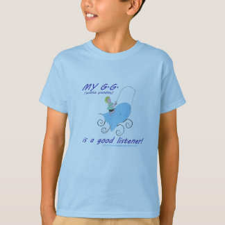 アメリカのおばあさんのほらの男の子のTシャツ Tシャツ