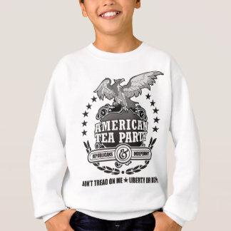 アメリカのお茶会EAGLE.png スウェットシャツ